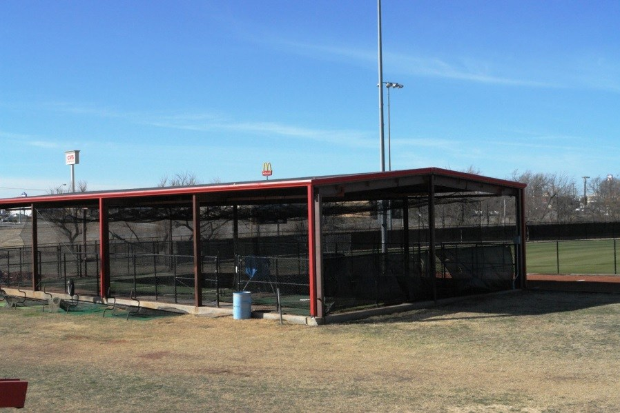 Batting Cages at baseball/softball fields