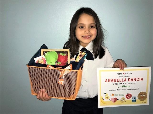 Arabella Garcia, Paz student
