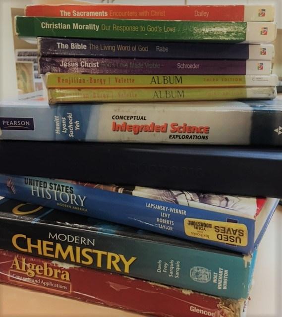 Textbook Policies & List – Textbooks – Bishop Conaty - Our