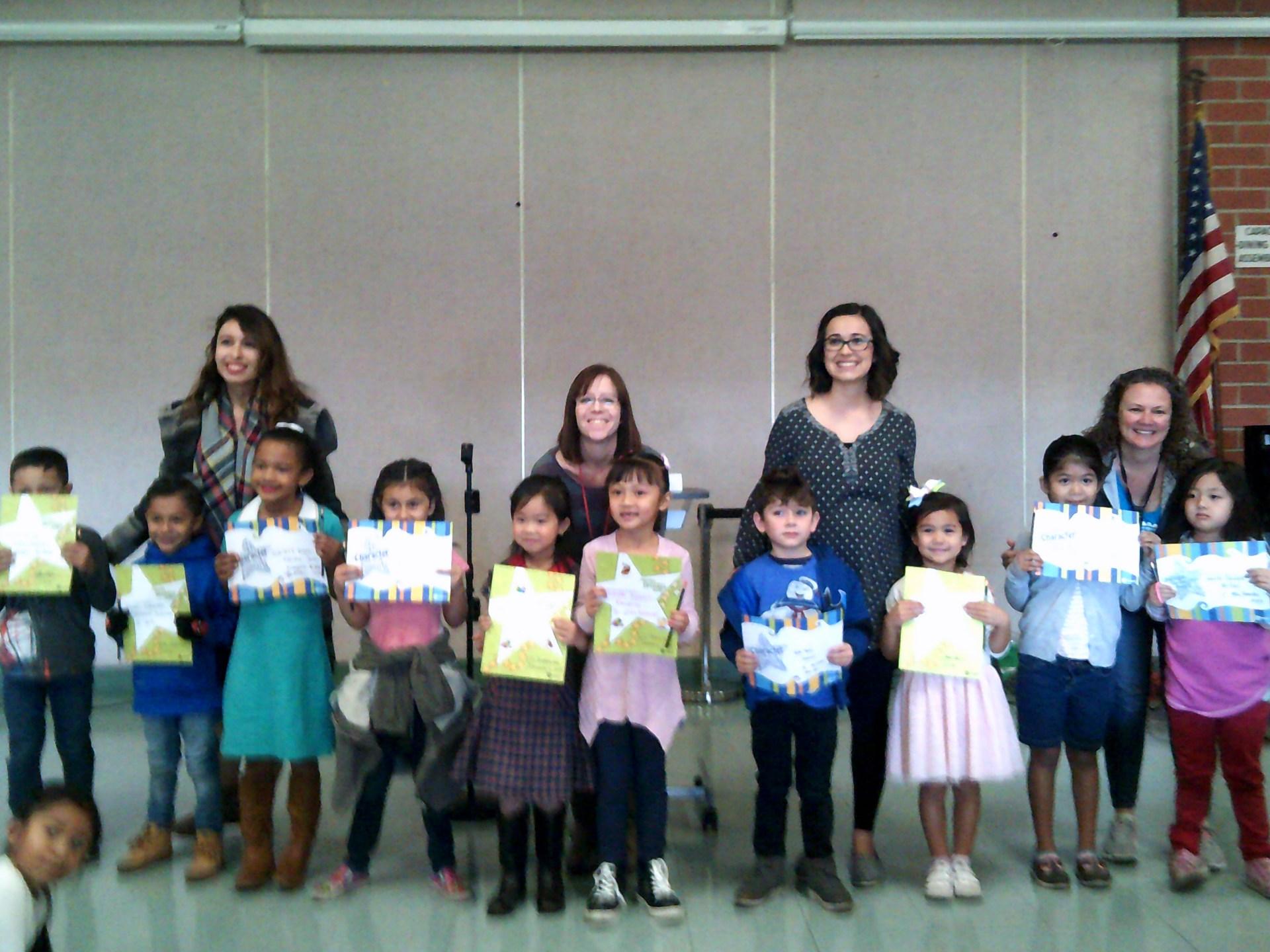 TK & Kindergarten Honorees