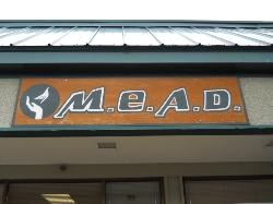 M.E.A.D. sign