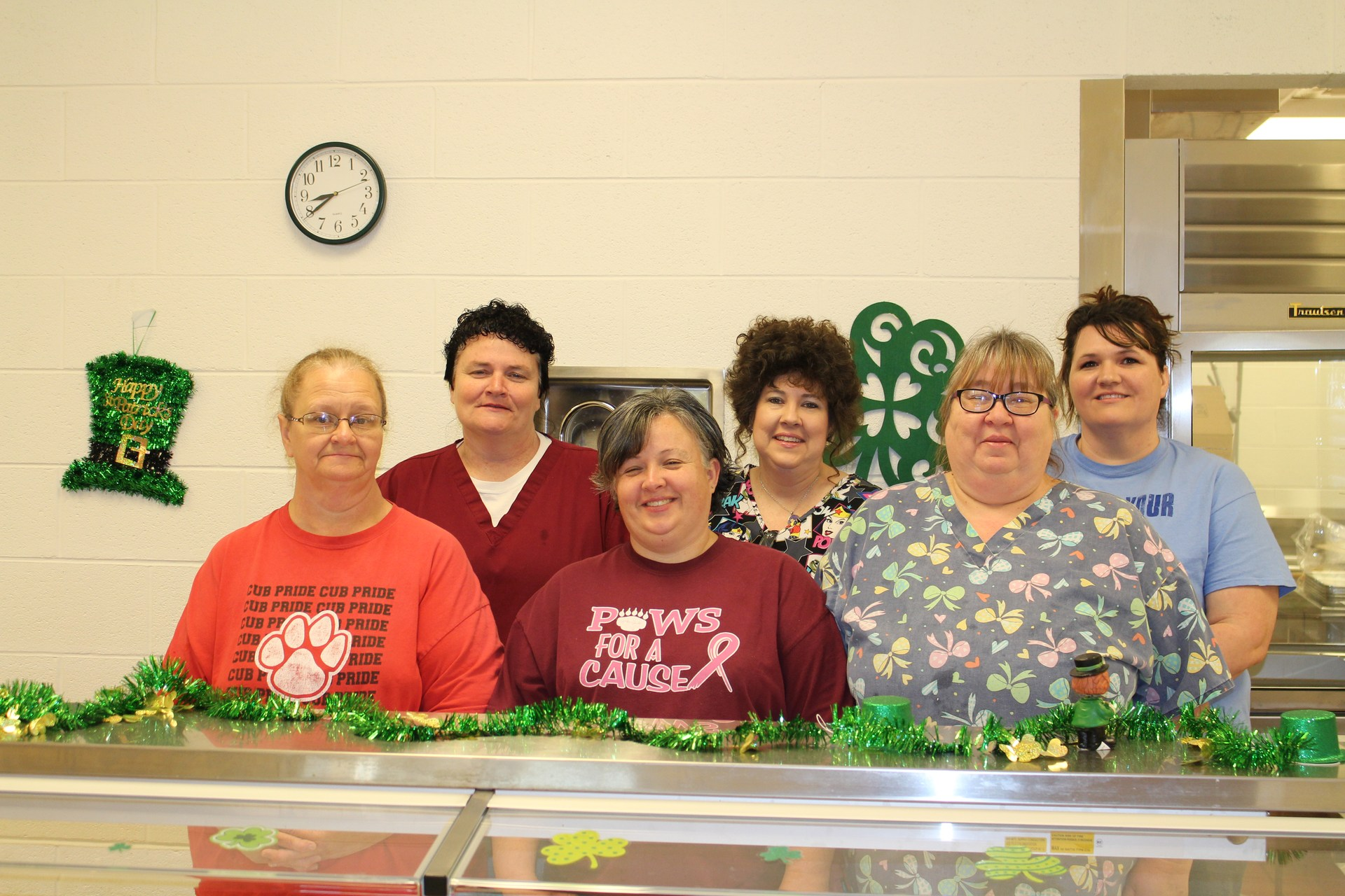 TPES Cafeteria Staff