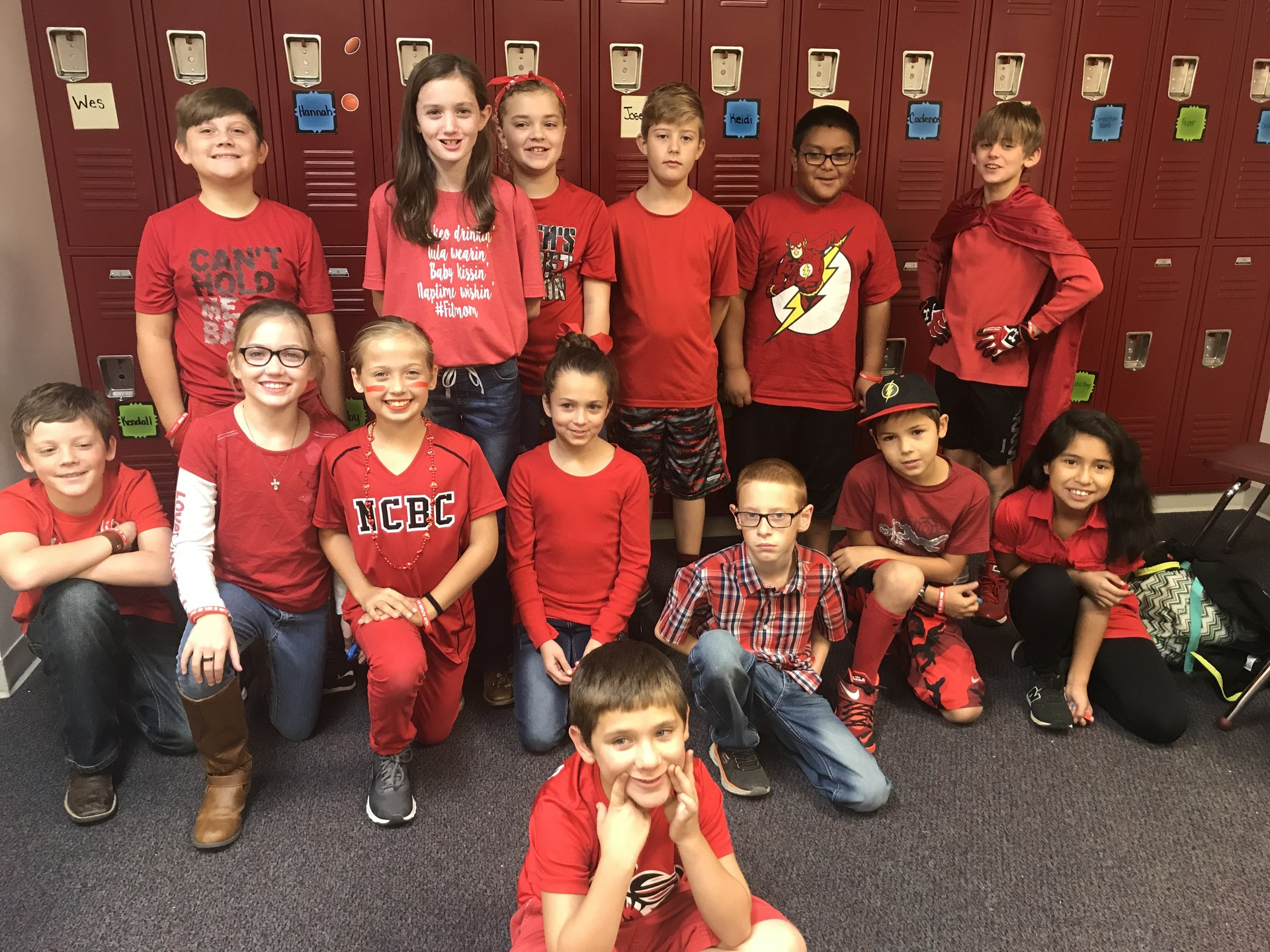 Red Ribbon Week Red Day