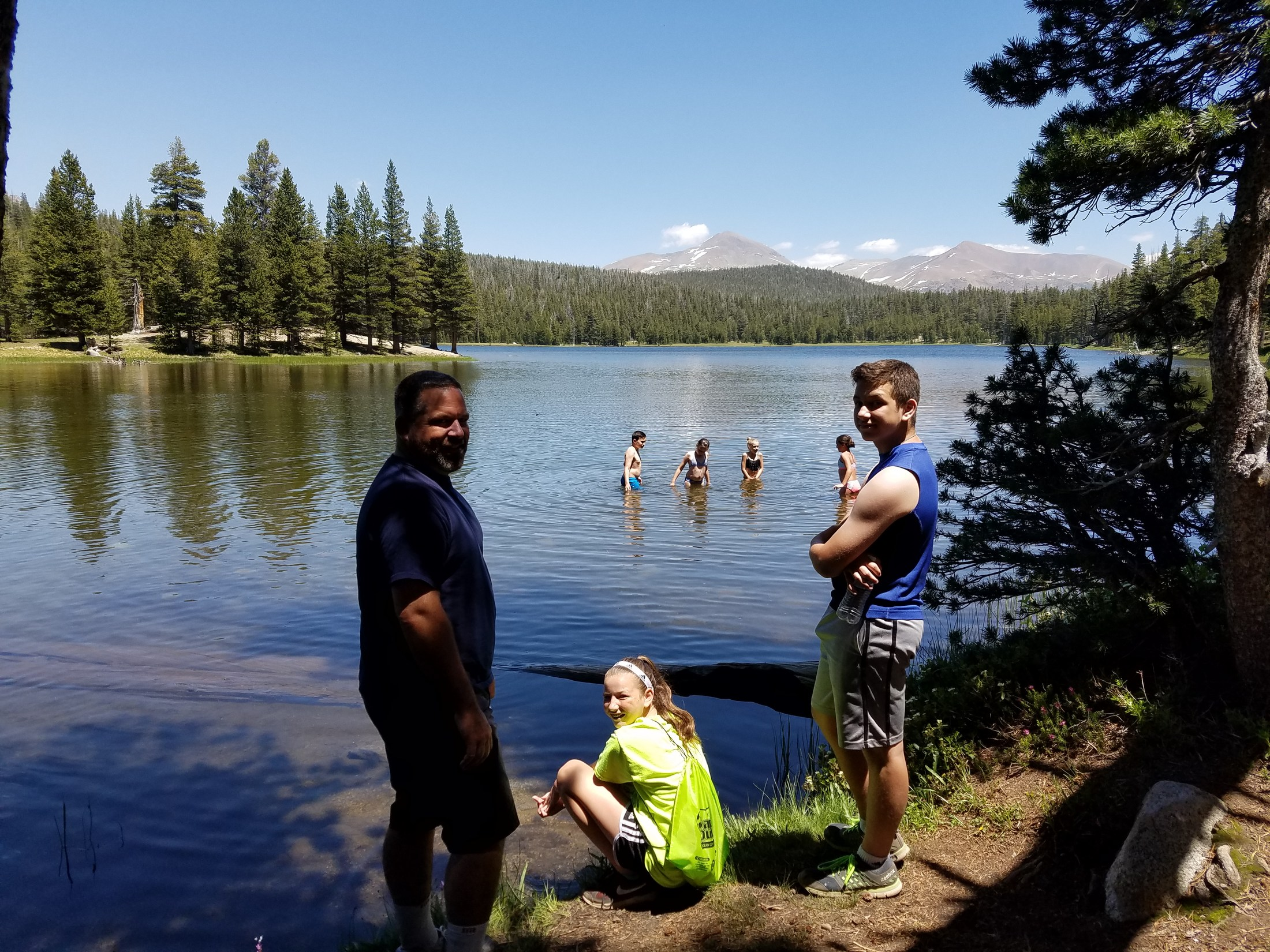 Yosemite National Park with my family