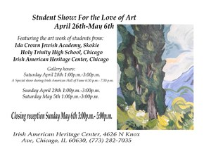 2018 Student show at the Irish  American Heritage Center flyer.jpeg