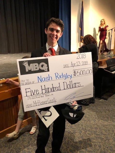 RHS Senior Crowned Mr. Beaver County! Featured Photo