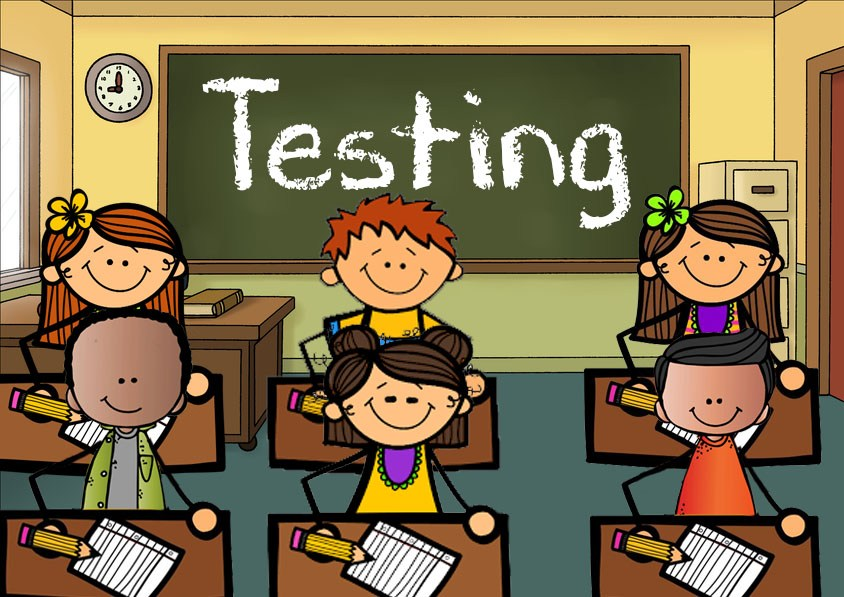 Testing Classroom Clipart