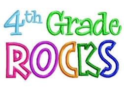 4th grade rocks