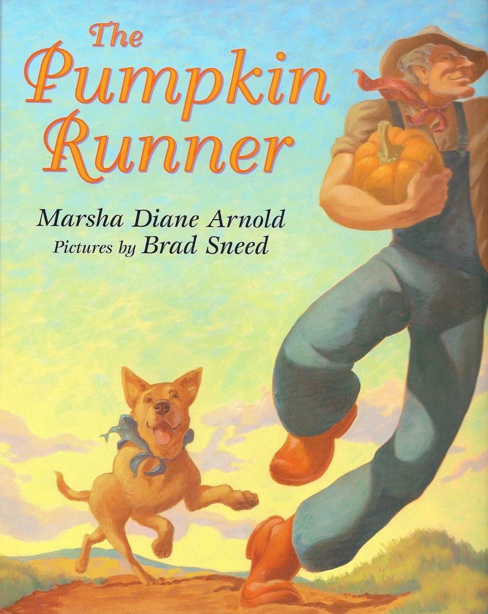 The Pumpkin Runner book cover