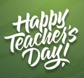 Happy Teacher's Day! Featured Photo