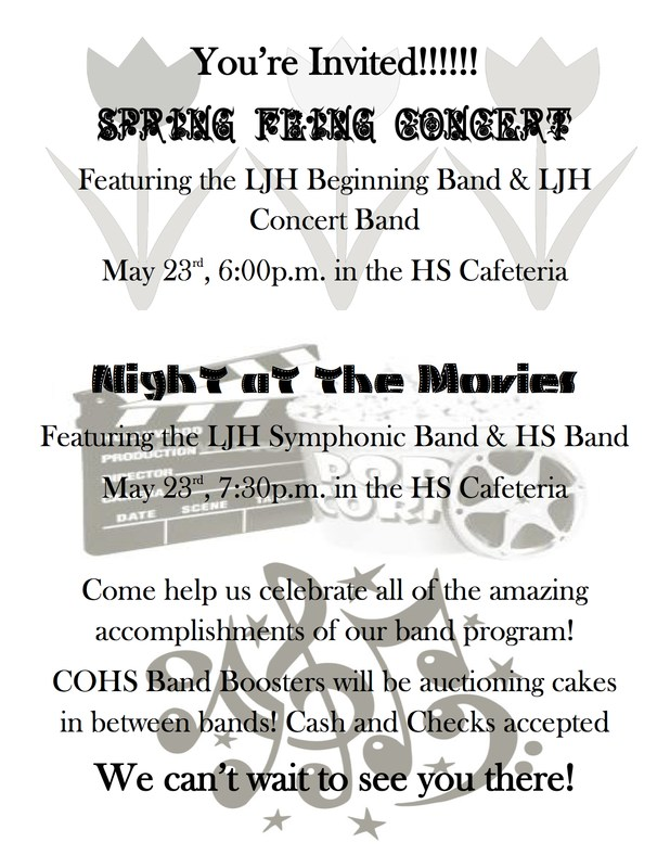 Spring Fling Band Concert! Thumbnail Image