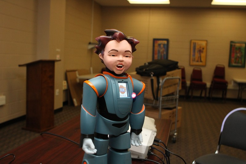 Milo The Robot to help students of all needs at Manor ISD Thumbnail Image