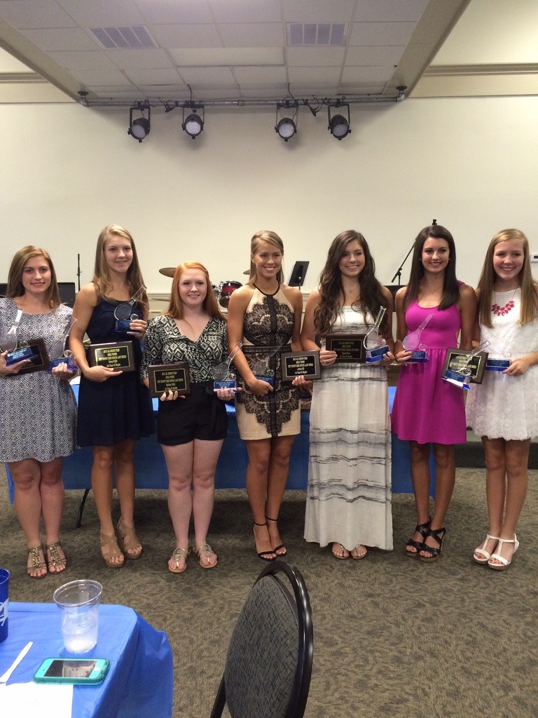 Girls at Tennis Banquet