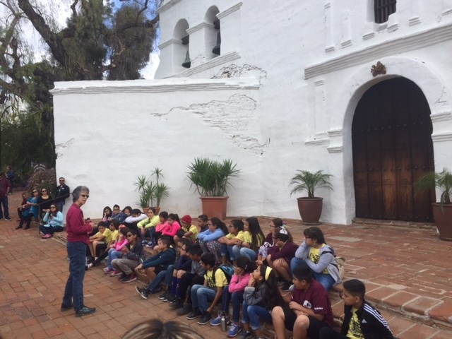 4th Grade Travels to Mission San Diego de Alcalá Thumbnail Image
