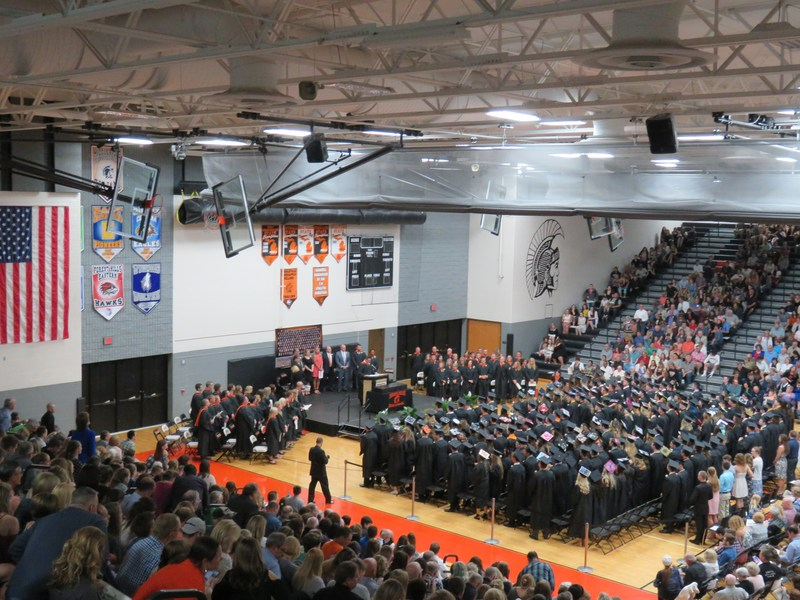 Thornapple Kellogg High School celebrated graduation of the Class of 2017 May 25.