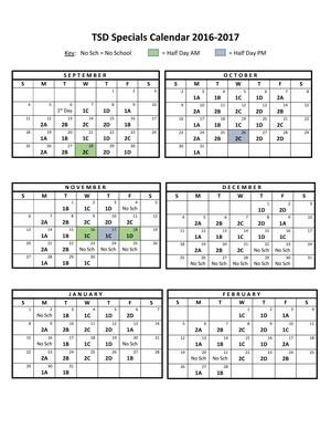 Building Schedule