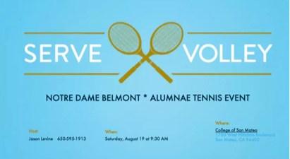Calling all Tennis athletes! Thumbnail Image