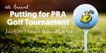Putting for PRA Golf Tounrment