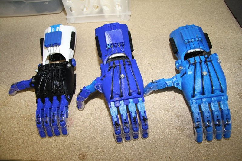 Grade 8 Prosthetic Hand Project Thumbnail Image