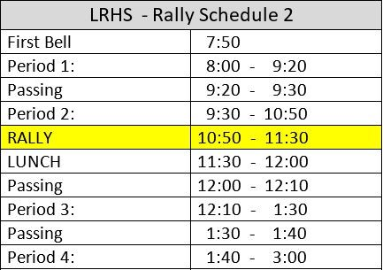 Rally Schedule Thumbnail Image