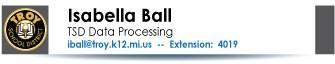 ISABELLA BALL CONTACT INFORMATION