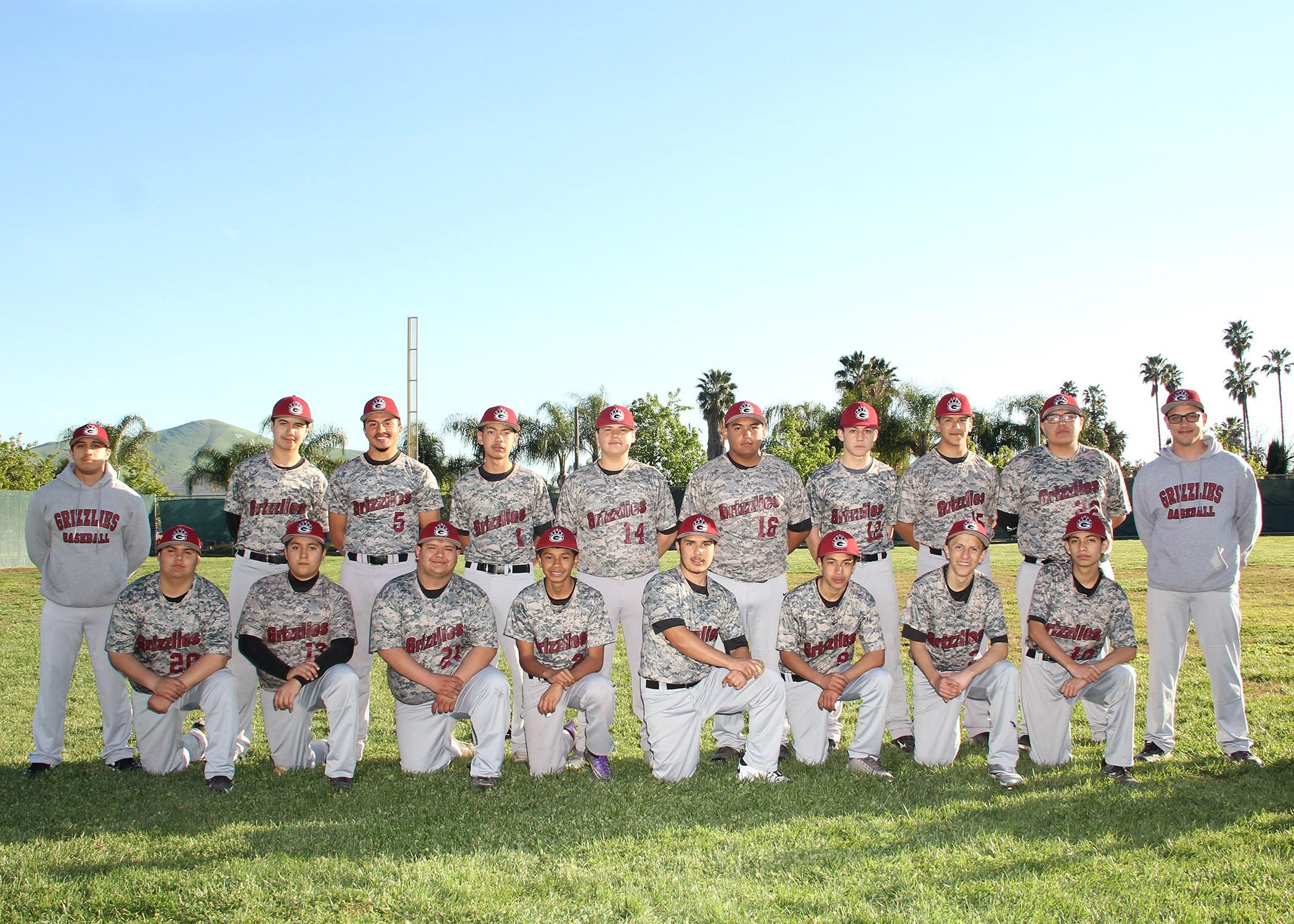 JV Boys Baseball