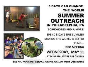 Summer Outreach 2016 Interest Meeting