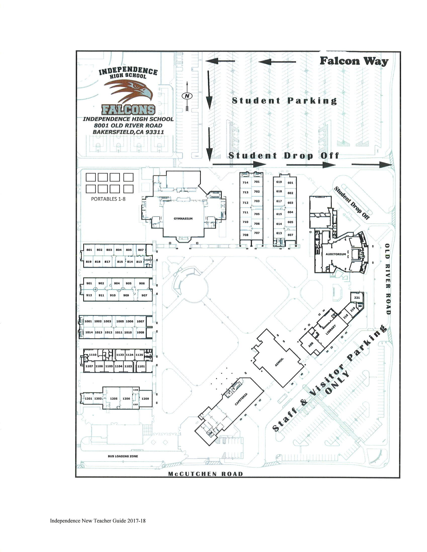 IHS Campus Map