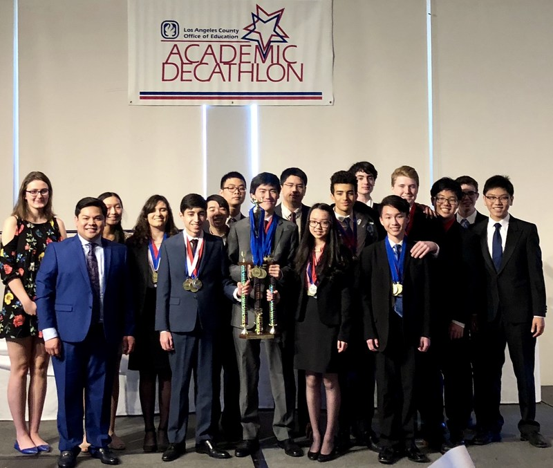 SPHS Academic Decathlon Team