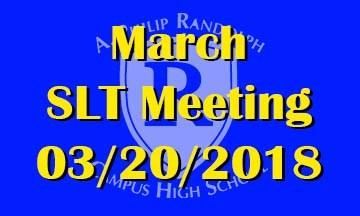 March SLT