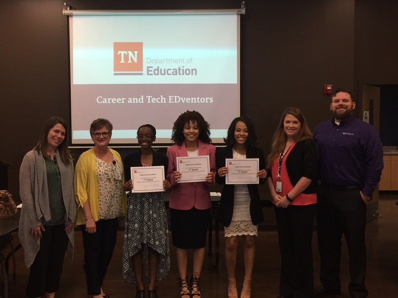 HHS Students Compete in TN Dept of Ed Career and Tech EDventors Competition Thumbnail Image