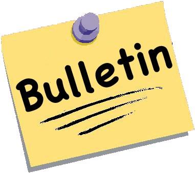 August 18 Bulletin