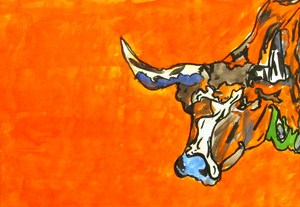 Talon Herrington - Textured Longhorn.JPG