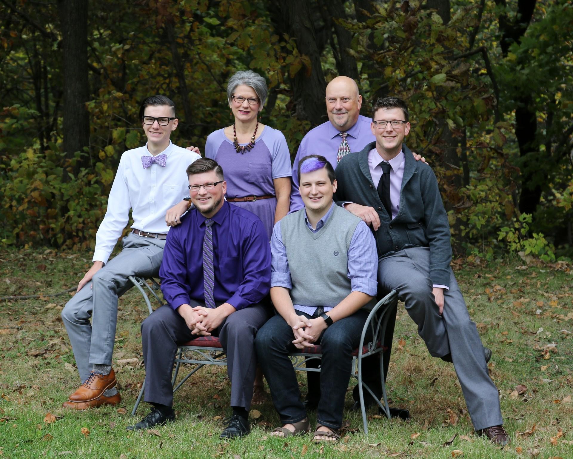 Barker Family October 2016