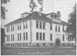 New Byron School after the fire of 1905