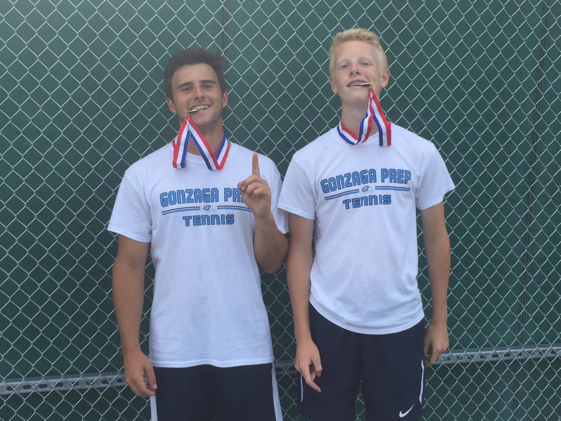 Boys Tennis - District Champions