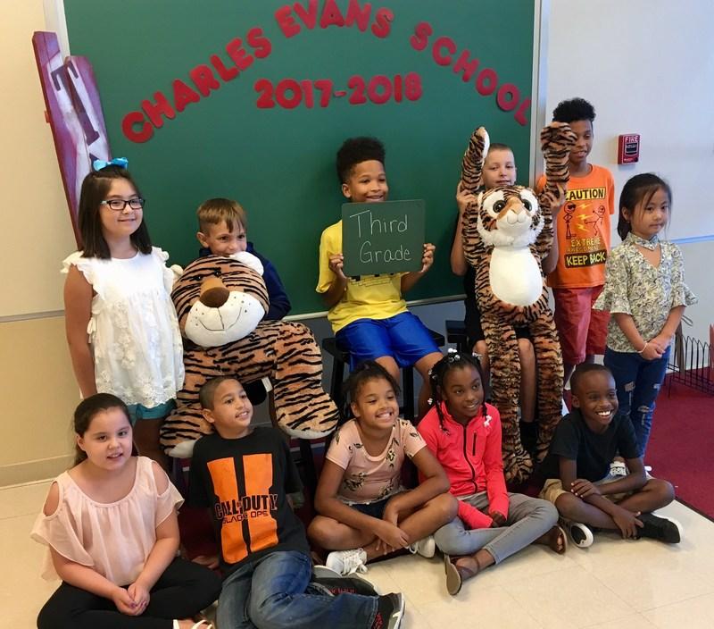 3rd Grade Students at Charles Evans