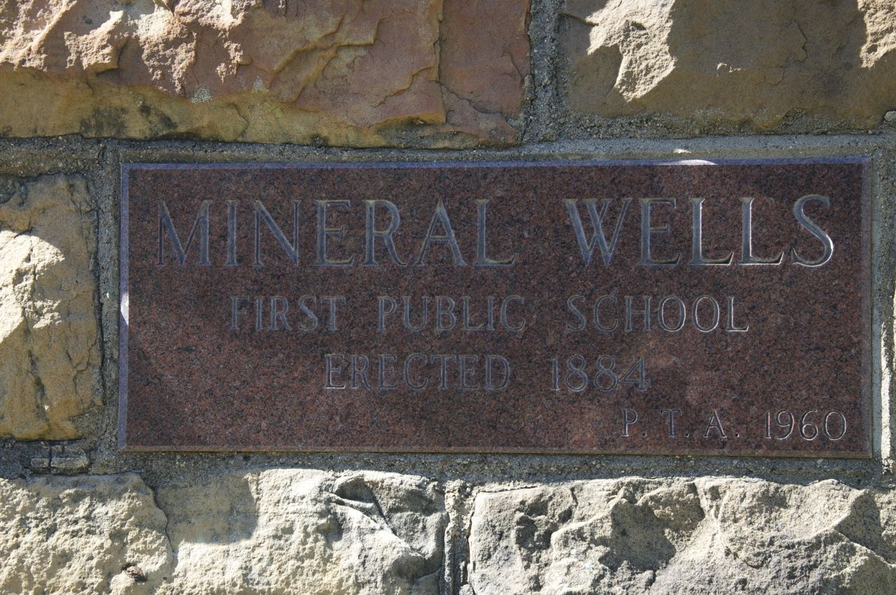 Cornerstone of Rock Schoolhouse