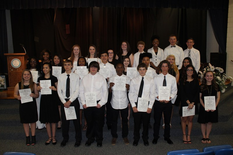SWEHS Inducts New National Honor Society Members Thumbnail Image