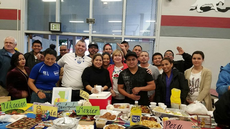 Multicultural Event Van Nuys Adult School