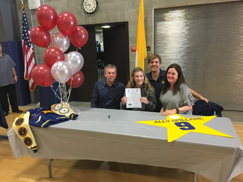 Senior Ally Spillane Commits to Play Volleyball at Eastern University Featured Photo