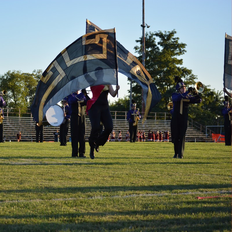 Marching Band and Color Guard Showcase Thumbnail Image