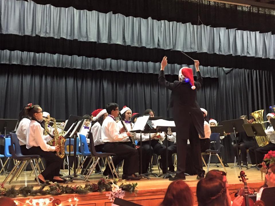 Granada Middle School band