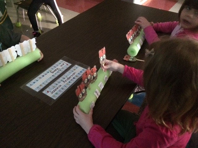 Matching Groundhogs to letter sounds! Fun Morning work!