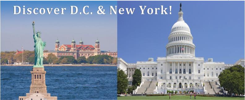 DISCOVER WASHINGTON D.C. & NEW YORK CITY!!! Thumbnail Image