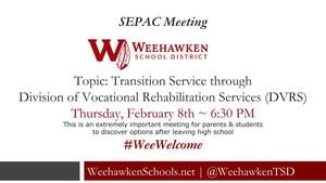 SEPAC Meeting - Thursday, February 8th