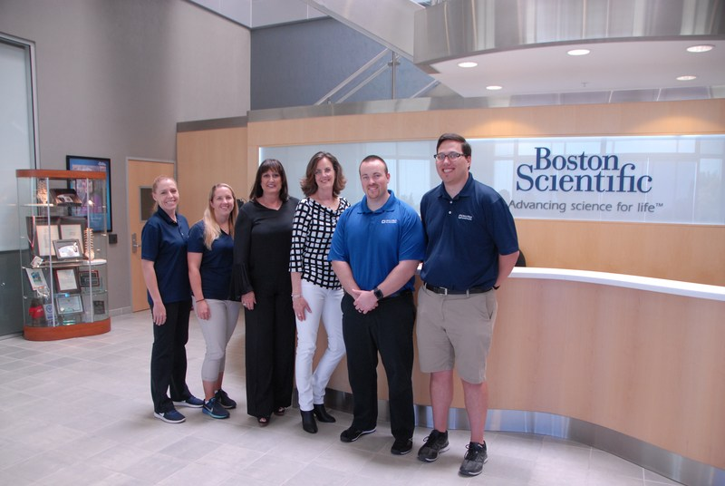 Hart District Athletic Trainers at Boston Scientific