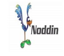 Noddin school roadrunner logo.