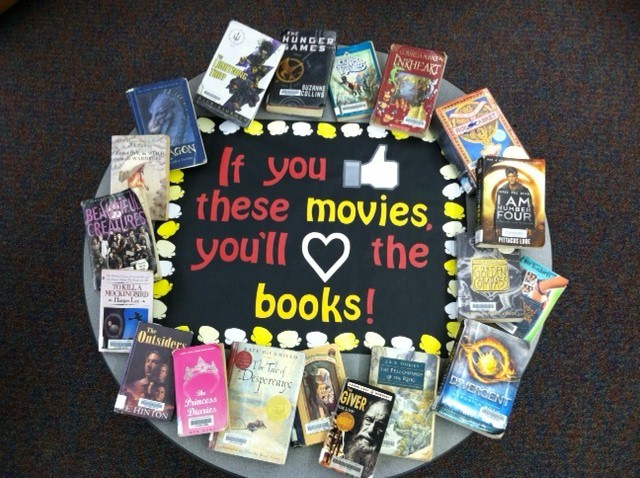 if you love movies you'll love books