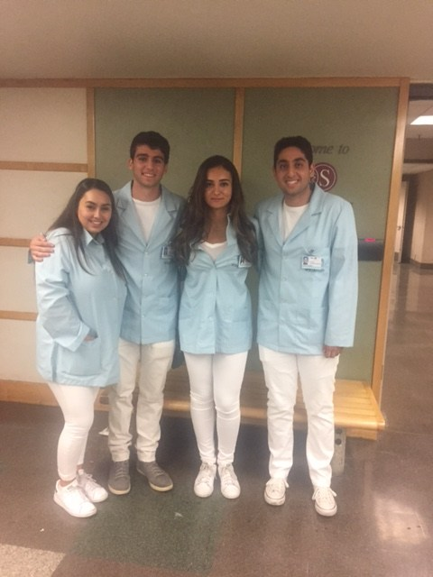 BHHS MSA Students Volunteer at Cedar Sinai Medical Center